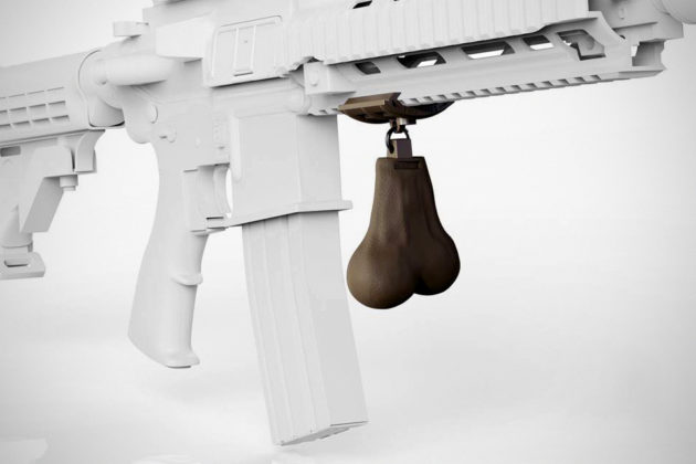 Gunsticles Tactical Testicles Novelty Nuts for Firearms