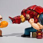 Lowfool 'Iron Man' Heats Up Comic Legend Stan Lee's Full Chicken Food