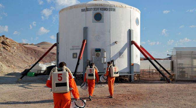Ikea Designers Live In Mars Simulator For Inspiration
