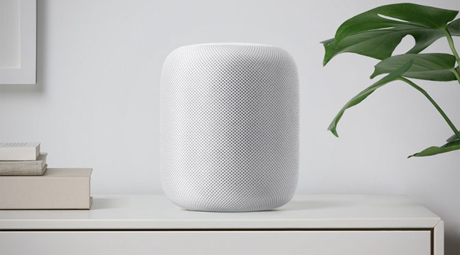 $350 Siri-enabled HomePod Is Apple's Answer To Amazon Echo