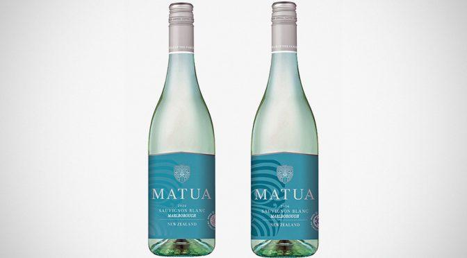 Matua Sauvignon Blanc with Chill Check Labels