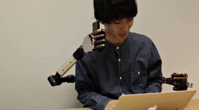 Wearable Robotic Limbs Because, Four Arms Is Always Better Than Two