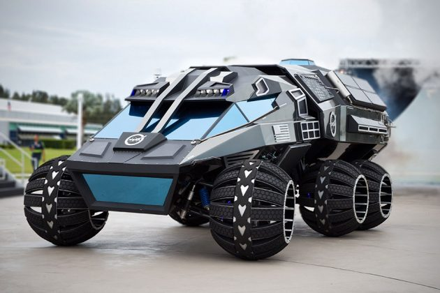 NASA Mars Rover Concept by Parker Brothers Concepts