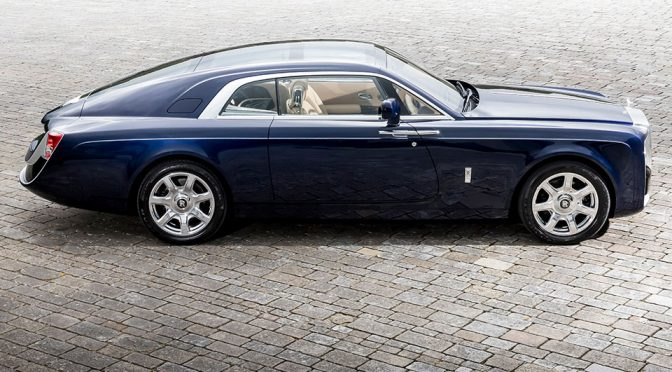One-off Rolls-Royce Sweptail Is Easily The Prettiest Spirit of Ecstasy Ever
