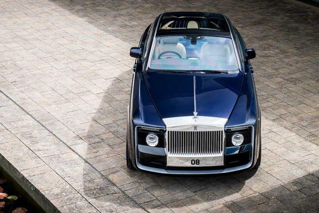 One-off Rolls-Royce Sweptail Coachbuilt 2-seater Coupé