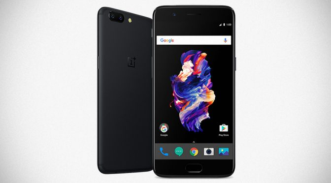 OnePlus 5 Android Smartphone Unveiled