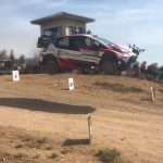 Rally Car Catching Some Air Nearly Took Out A Drone In Its Path