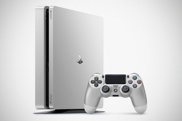 Silver Edition Sony Playstation 4