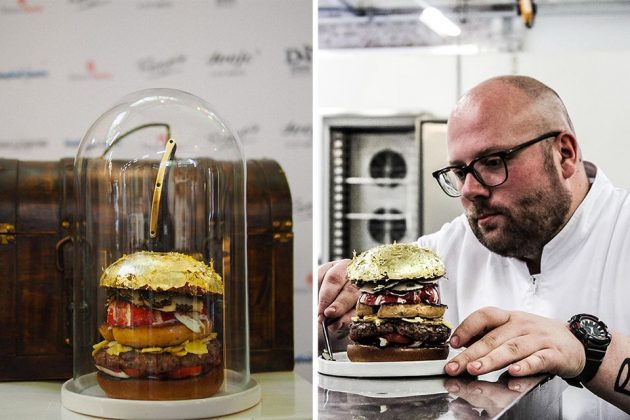 South of Houston The Netherlands $2,300 Hamburger by Chef Diego Buik