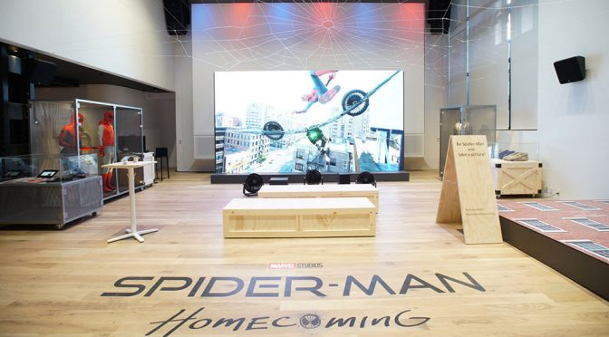 Sony Invites You To Step Into The Shoes Of Peter Parker At Sony Square NYC