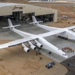 The World's Biggest Aircraft, Stratolaunch, Emerges From Hanger