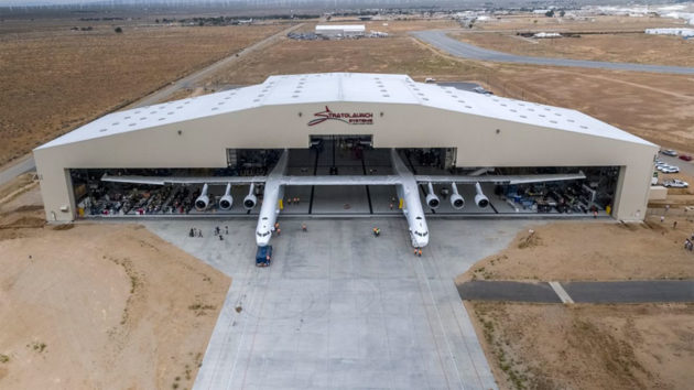 Stratolaunch Air-launch Platform for Low Earth Orbit
