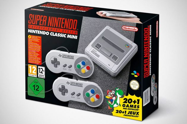 Super Nintendo Classic Edition 16-bit Retro Video Game Console
