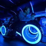 TRON Lightcycle Power Run: Roller Coaster Thrill In Motorbike Style