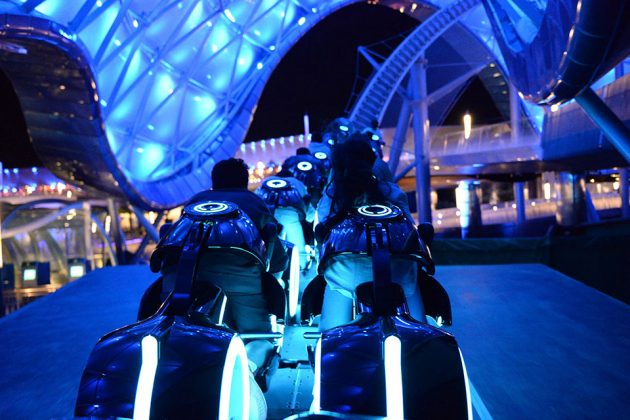 TRON Lightcycle Power Run Roller Coaster