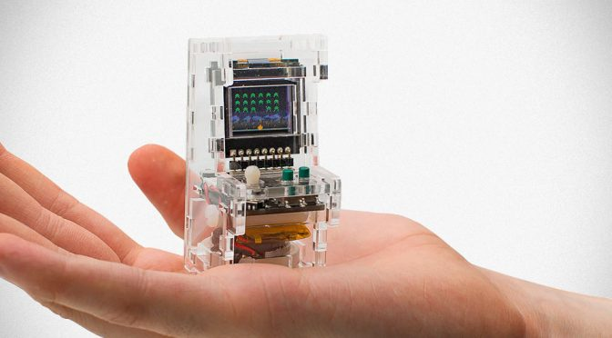 TinyCircuits Is 8-bit Gaming Arcade Machine That Fits Into Your Pocket