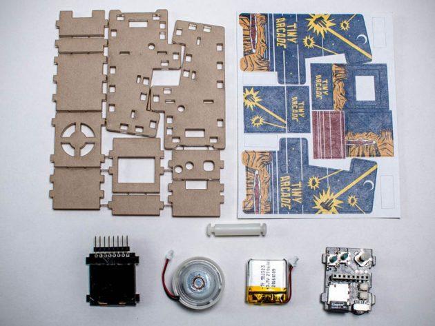 TinyCircuits Arcade Kit Toy Pocket Arcade Machine