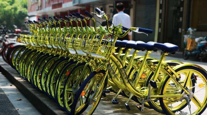 Shared Bikes In China Now Comes In Gold, But Do <em>Tuhao</em> Needs Them At All?