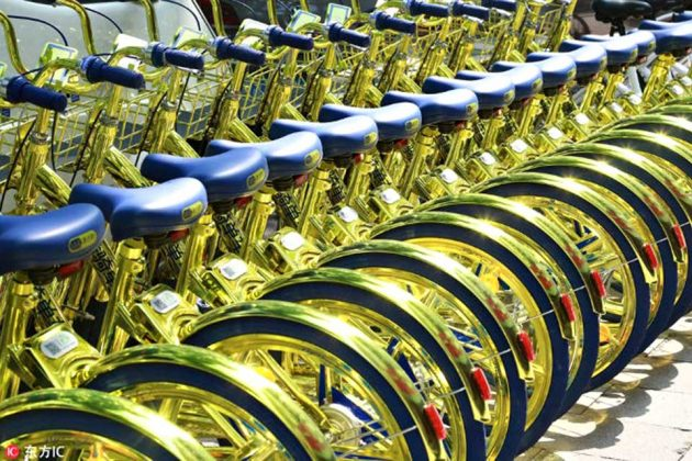 Tuhao Gold Shared Bikes by Cool Qi Bike