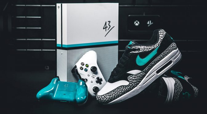 Custom Xbox One S With Matching Nike Sneakers Was Given Away In Germany