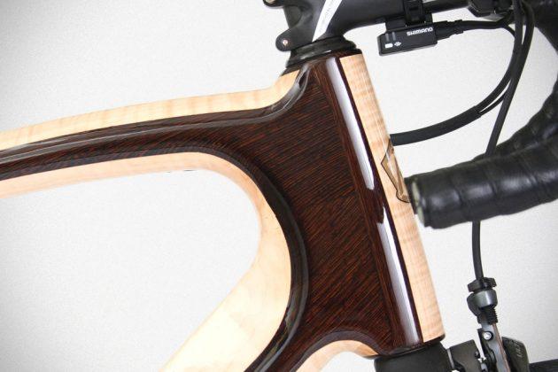 Aerowood Endurance Bike by Renovo Hardwood Bicycles