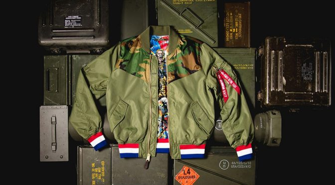 Alpha Industries G.I. Joe L-2B Flight Jacket and Toy