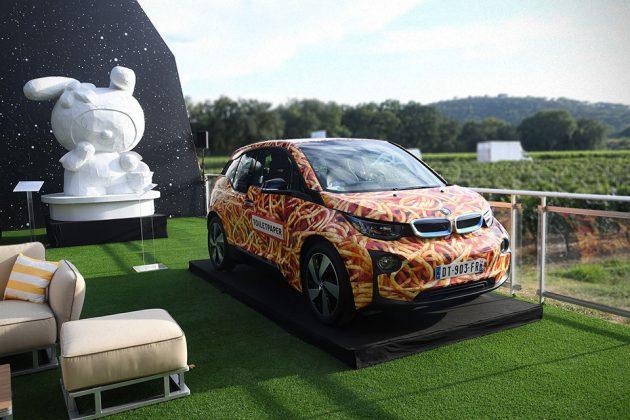 """BMW i3 """"Spaghetti Car"""" by Maurizio Cattelan Sold"""
