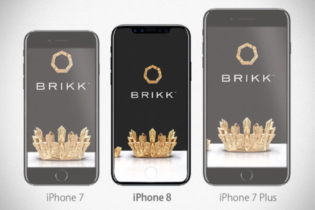 Brikk Teases Luxury iPhone 8 Even Before Official Announcement
