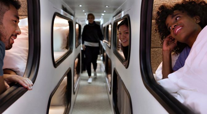 Cabin Sleeper Bus: Sleep Like A Boss When Getting From LA To SF