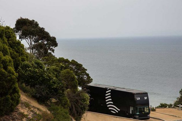 Cabin Sleeper Bus From LA to San Francisco