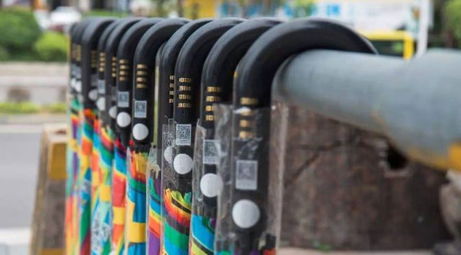 China Umbrella Sharing Loses 300000 Umbrellas