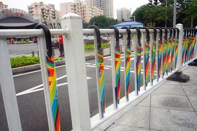 China Umbrella Sharing Loses 300000 Umbrellas
