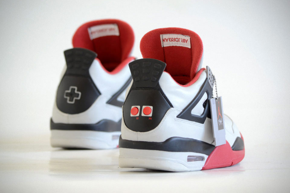 d75fb57e7bf Freaker Sneaks NES-Themed Jordan Comes With Cartridge-shaped Tag ...