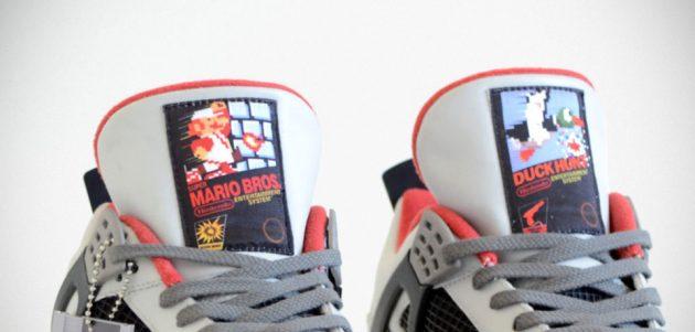 """Custom Jordan """"NES"""" IV Sneakers by Freaker Sneaks"""