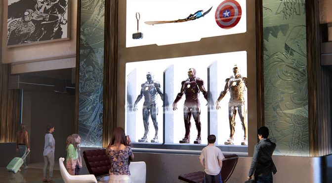 Disneyland Paris To Get Marvel-Themed Disney's New York Hotel