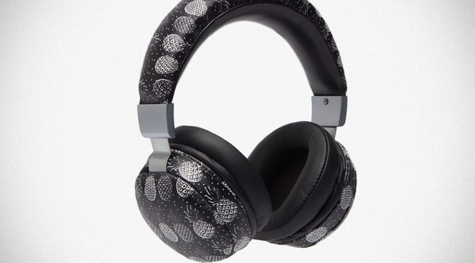 Dolce & Gabbana Quirky Pineapple Print Headphones Now At 40% Off