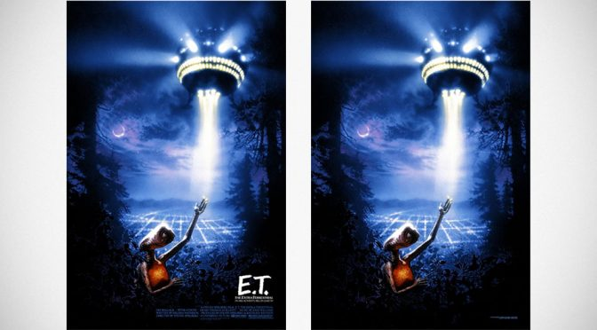 Drew Struzan's <em>E.T. the Extra-Terrestrial</em> Edition Prints Mark E.T.'s 35 Years
