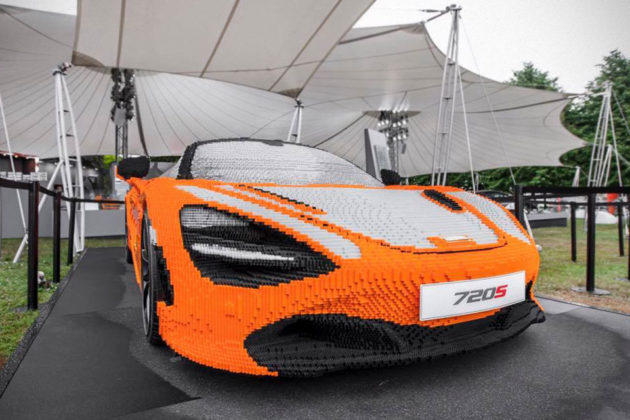 Full-size LEGO McLaren 720S at Goodwood Festival of Speed