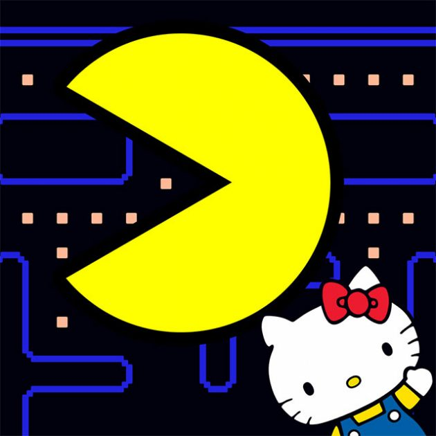 Hello Kitty x PAC-MAN Mobile Game and Merchandise