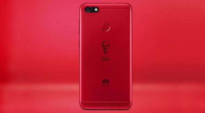 KFC China And Huawei Launches $162 Commemorative KFC Phone