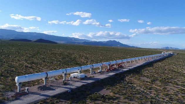 Hyperloop One Vehicle Levitates Made Major Milestone
