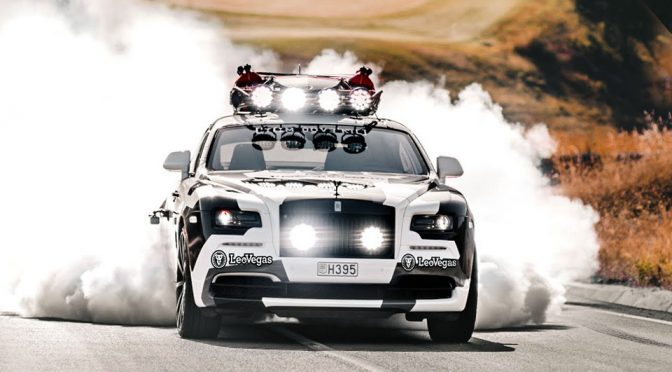 Jon Olsson's Latest Ride, A Custom Wraith, Is A Very Angry 810HP Beast