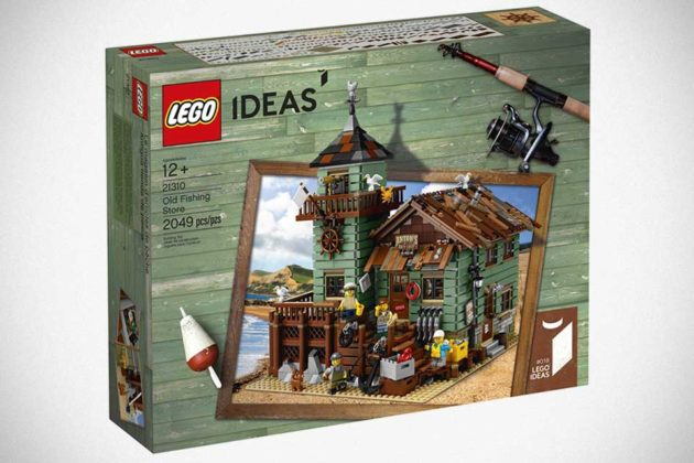 LEGO Ideas The Old Fishing Store by Robert Bontenbal