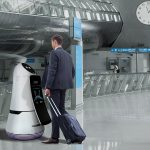 LG's Army Of Airport Robots On Trial At South Korea's Largest Airport