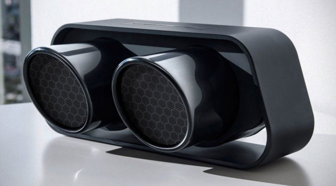 Porsche Turns 911 GT3 Tailpipes Into A Handsome Stereo Bluetooth Speaker