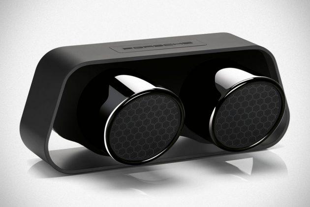 Porsche Design 911 Exhaust Tailpipes Bluetooth Speaker