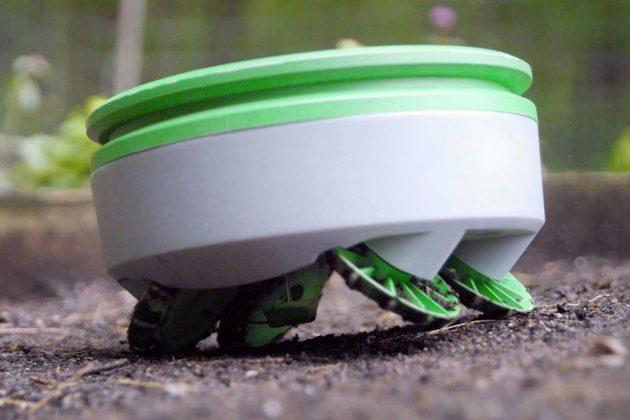Tertill Solar Powered Weeding Robot by Franklin Robotics