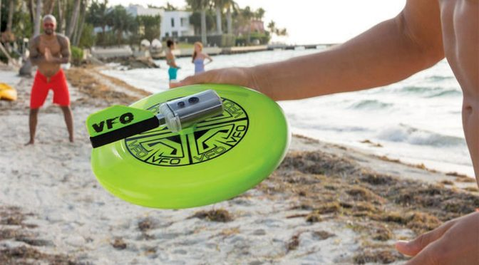 Frisbee With Camera Lets You See The (Spinning) World As A Flying Disc Sees It