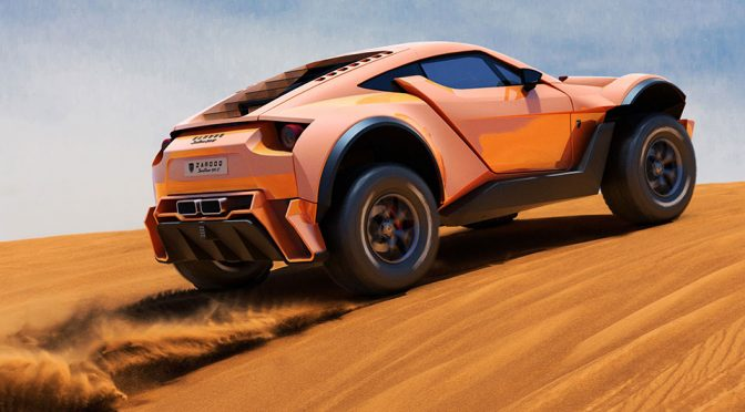 Zarooq SandRacer 500GT: A Supercar That Can Take On The Sandy Dunes