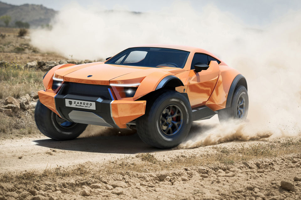Zarooq Sandracer A Supercar That Can Take On The Sandy